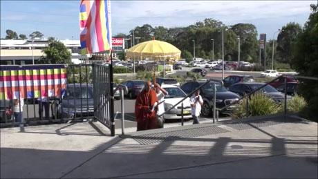 Sati Pasala Sydney, Australia inaugural public event (1)