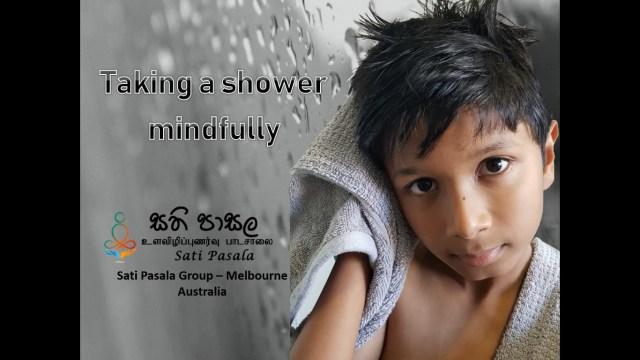 Mindful Showering