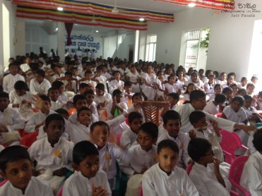 Sati Pasala Mindfulness program at Dhammikarama Temple Dhamma School (3)