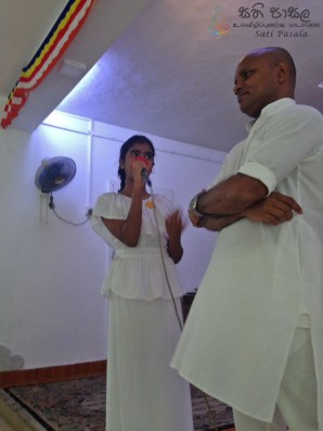 Sati Pasala Mindfulness program at Dhammikarama Temple Dhamma School (4)