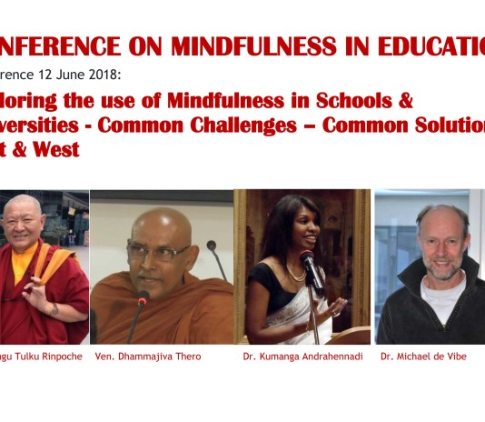 Exploring the use of mindfulness in Schools & Universities-Flyer mindfulness conference