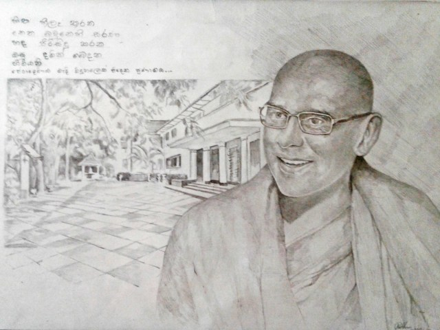 Founder of Sati Pasala at his Alma Mater - Peradeniya MMV