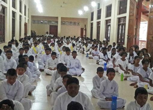 Sati Pasala Program at Sri Deepalankara Daham Pasala, Assaduma Kuliyapitiya