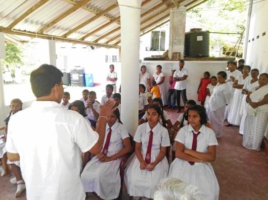 Sati Pasala at Dhamma Vijaya Meditation Centre, Imaduwa