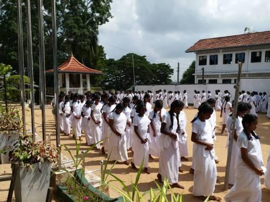Sati Pasala program at Rippon Girls College, Galle (1)