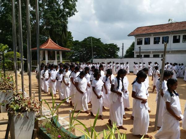 Sati Pasala program at Rippon Girls College, Galle (1)