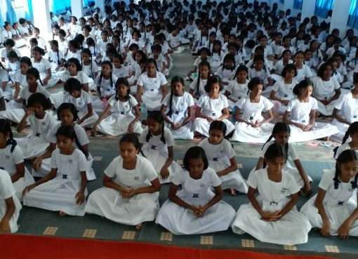 Sati Pasala program at Rippon Girls College, Galle