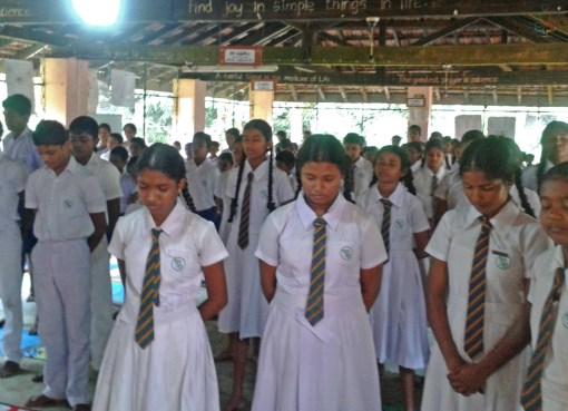 Sati Pasala Programme at Sri Sumana Vidayalaya, Wathuyaya Kuruwita