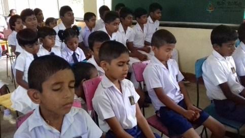 Satipasala programme at Ambanwela Primary, Welamboda (7)