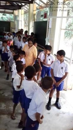 Satipasala programme at Ambanwela Primary, Welamboda (8)