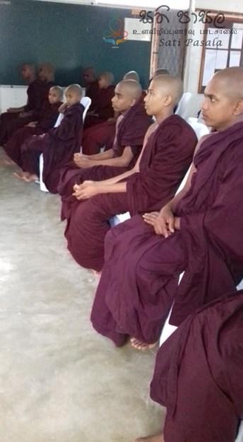 Sati Pasala Programme at Thelambugala Pirivena (12)