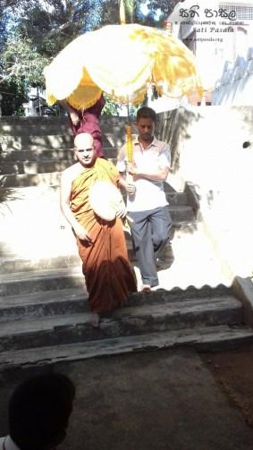 Sati Pasala at Sri Nigrodaraamaya Sunday School, Dewaragampola Mawanella (2)