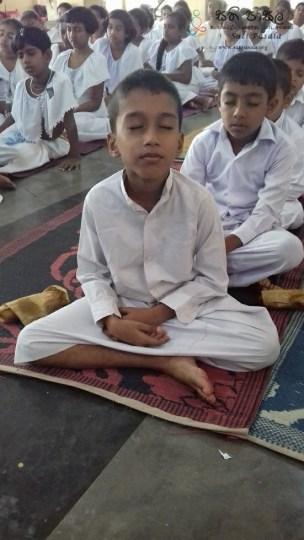 Sati Pasala at Sri Nigrodaraamaya Sunday School, Dewaragampola Mawanella (30)