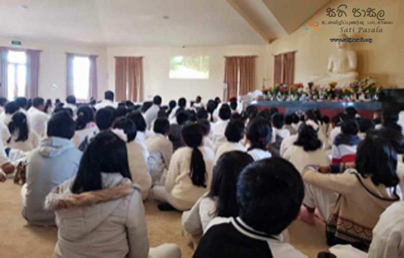 Sati Pasala session conducted for Dhamma Sarana Daham Pasala - Melbourne, Australia (4)