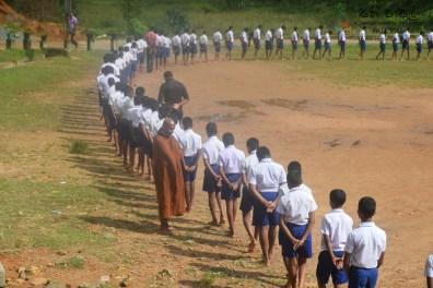Thawalama Vidyaraja National School Grade 8 & 9 Students Practiced Mindfulness (12)