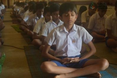 Thawalama Vidyaraja National School Grade 8 & 9 Students Practiced Mindfulness (33)