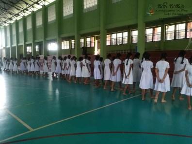 Mindfulness Programme at Sumana Balika Vidyalaya, Ratnapura (10)