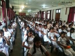 Mindfulness Programme at Sumana Balika Vidyalaya, Ratnapura (24)