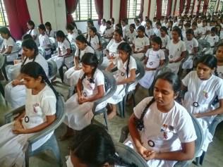 Mindfulness Programme at Sumana Balika Vidyalaya, Ratnapura (32)