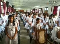 Mindfulness Programme at Sumana Balika Vidyalaya, Ratnapura (5)