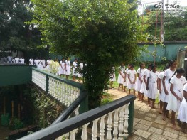 Mindfulness Programme at Sumana Balika Vidyalaya, Ratnapura (6)