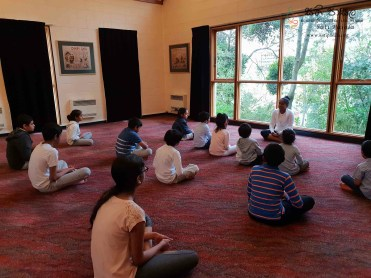 Sati Pasala -Dunedin -New Zealand has completed two years in September, 2018 (Sitting) (1)
