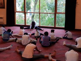 Sati Pasala -Dunedin -New Zealand has completed two years in September, 2018 (Yoga) (8)