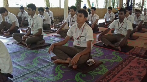 Sati Pasala Mindfulness Programme for Trainee PHI (9)