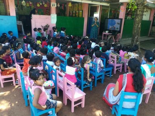 Sati Pasala Mindfulness Programme for Visaka Pre-School, Kadawatha (2)