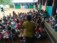 Sati Pasala Mindfulness Programme for Visaka Pre-School, Kadawatha (25)