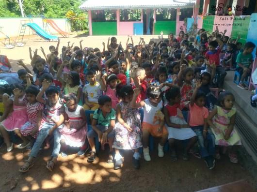 Sati Pasala Mindfulness Programme for Visaka Pre-School, Kadawatha (9)
