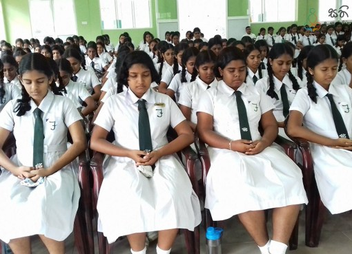 Sati Pasala Programme at Ferguson High School, Ratnapura
