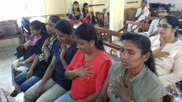 Mindfulness programme at St. Johns Church, Gatambe (23)