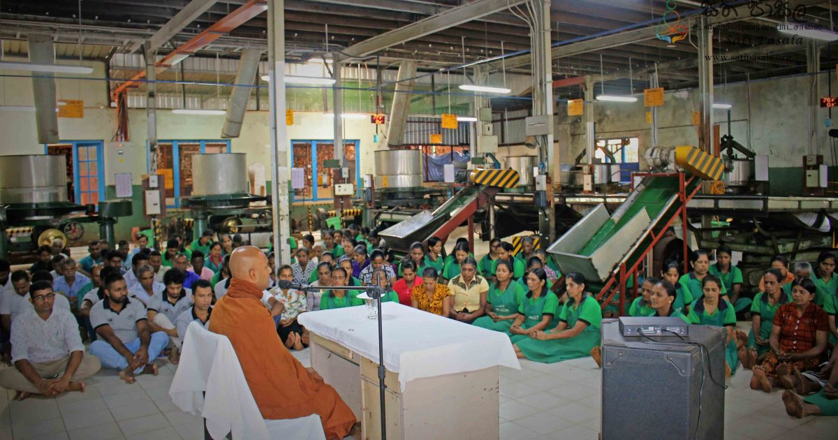 Monthly Sati Pasala for Dartry Valley Tea Factory - 4th October 2018