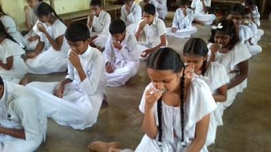Sati Pasala Mindfulness Programme for Sri Dharmodaya Sunday School (17)