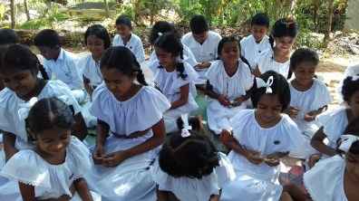 Sati Pasala Mindfulness Programme for Sri Dharmodaya Sunday School (5)
