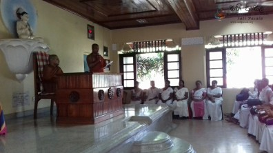 Sati Pasala Programme at Gatambe Temple, Kandy (1)