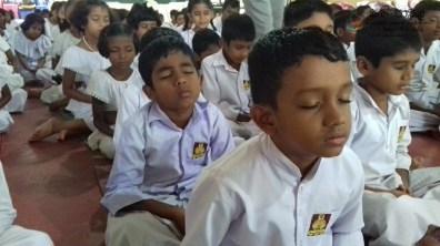 Mindfulness Programme at Rahath-len Aranya Senasanaya, Horowpathana