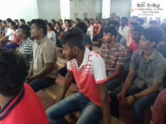 Sati Pasala Mindfulness Programme for Vishva Institute, Mawanella (22)