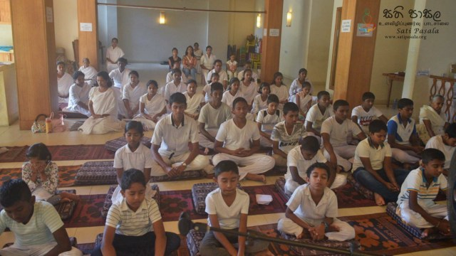 Sati Pasala Residential Programme for Children and Parents at Seelawathi Sevana