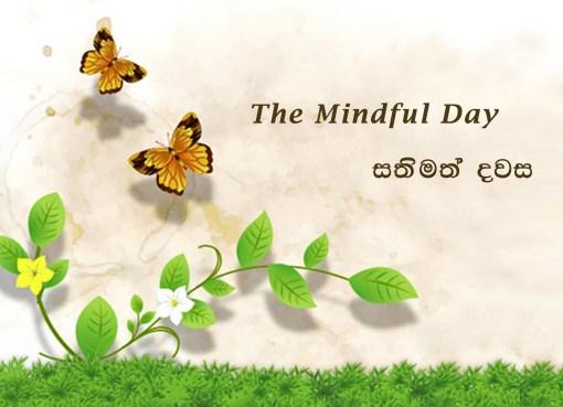 සතිමත් දවස - බලංගොඩ පාසල් සිසුවිය, The Mindful day