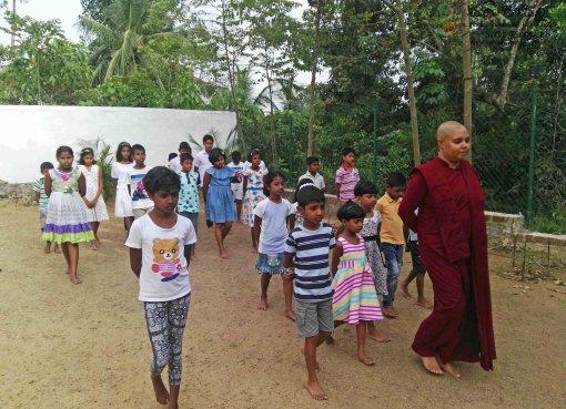Sati Pasala Programme at D.V.P. Wijesinghe Daham Sevana, Bandaragama
