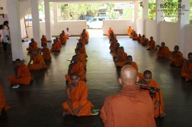 Monthly Sati Pasala for Venerable Members of the Clergy - 31st January 2019 (7)