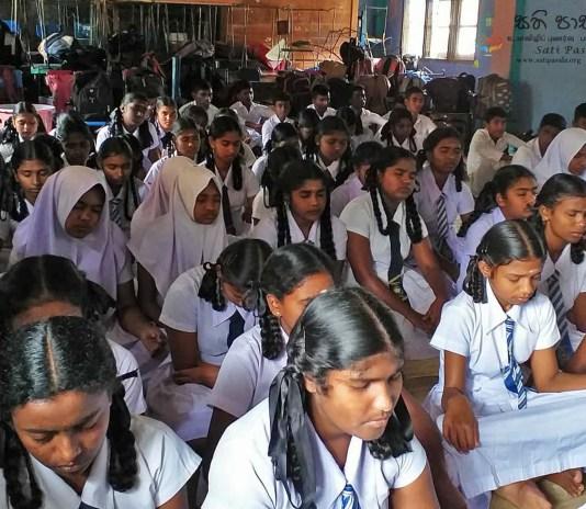 Sati Pasala Programme at Sautham Tamil Maha Vidyalaya - 8th February 2019