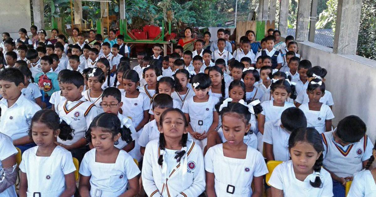 Sati Pasala at Pilimathalawa Primary School