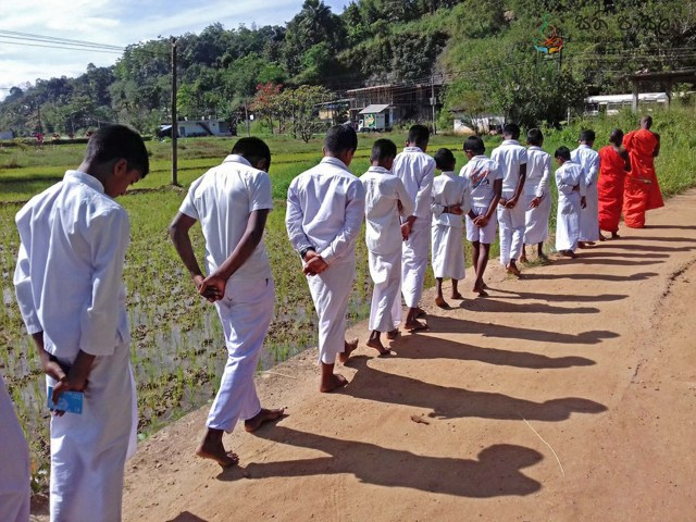 Sati Pasala at Siri Niketharamaya, Haladiwela, Pamunuwa