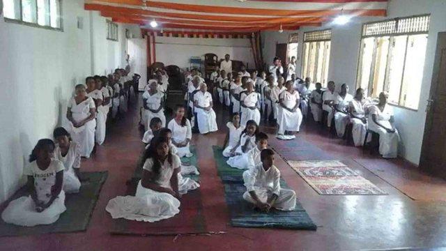 Mindfulness Programme at Batuambe Temple, Nugawela