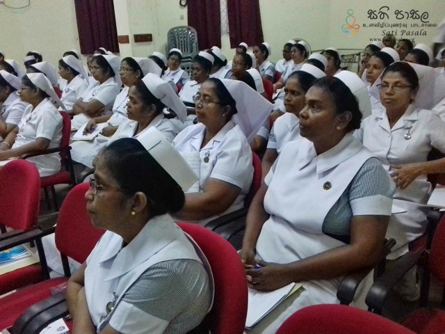 Sati Pasala Mindfulness Programme at Ragama Hospital