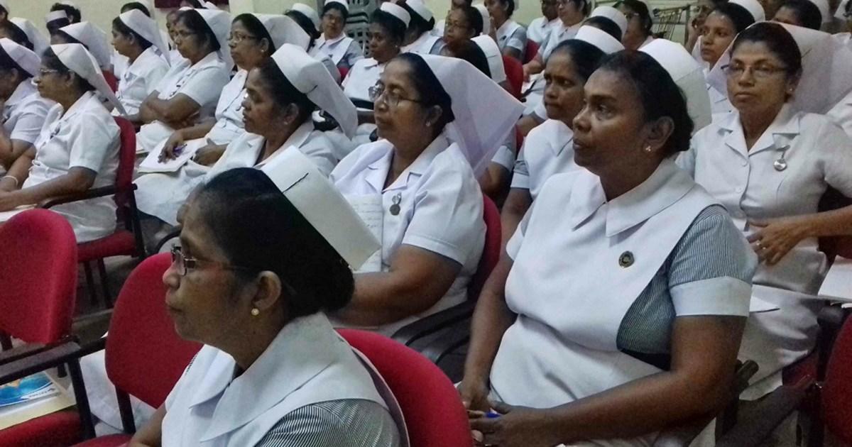 Sati Pasala Mindfulness Programme at Ragama Hospital