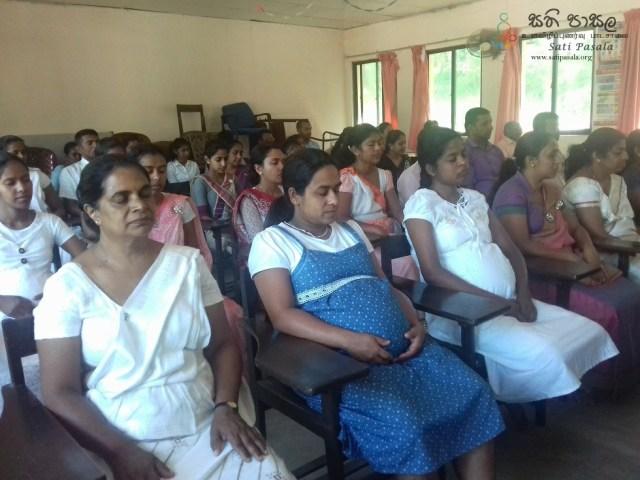 Sati Pasala Mindfulness Programme at Zonal Education Office, Hanguranketha